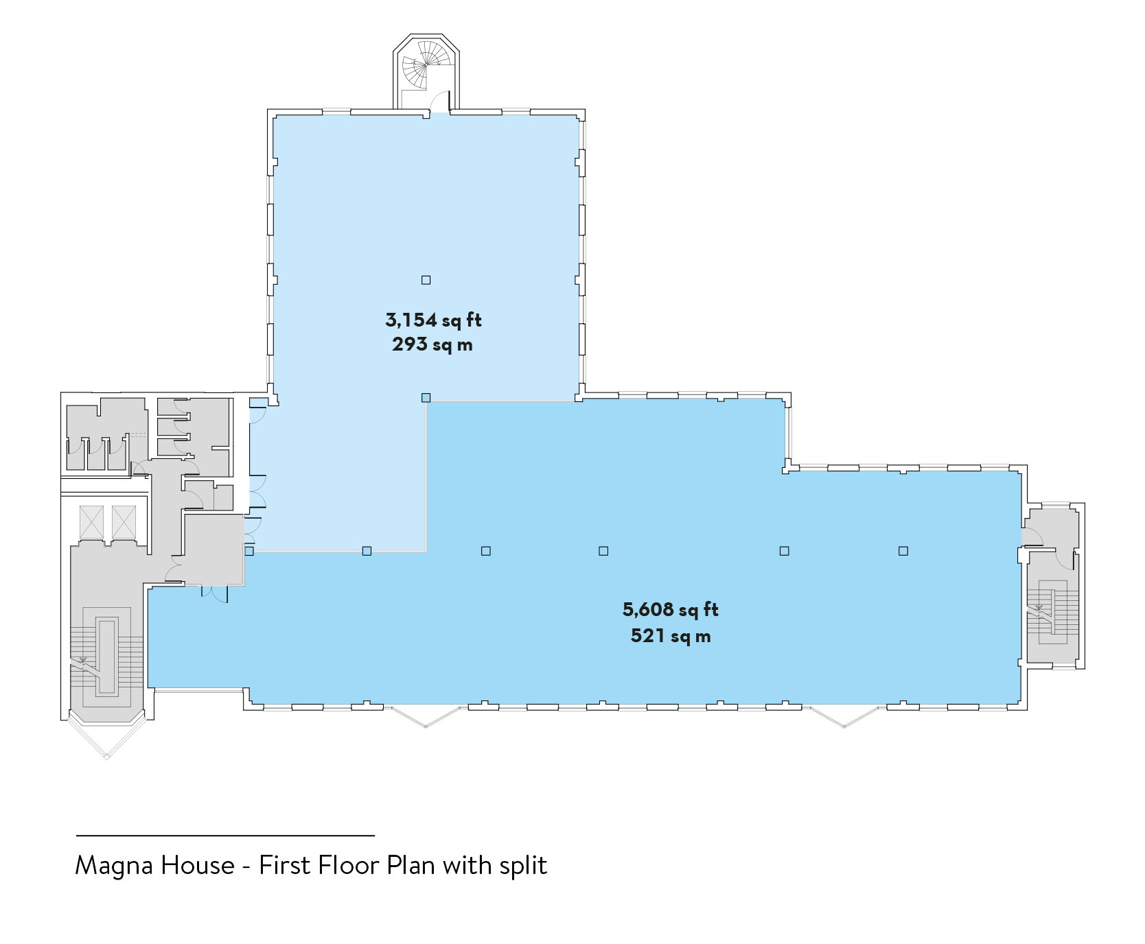 Magna House First Floor Plan