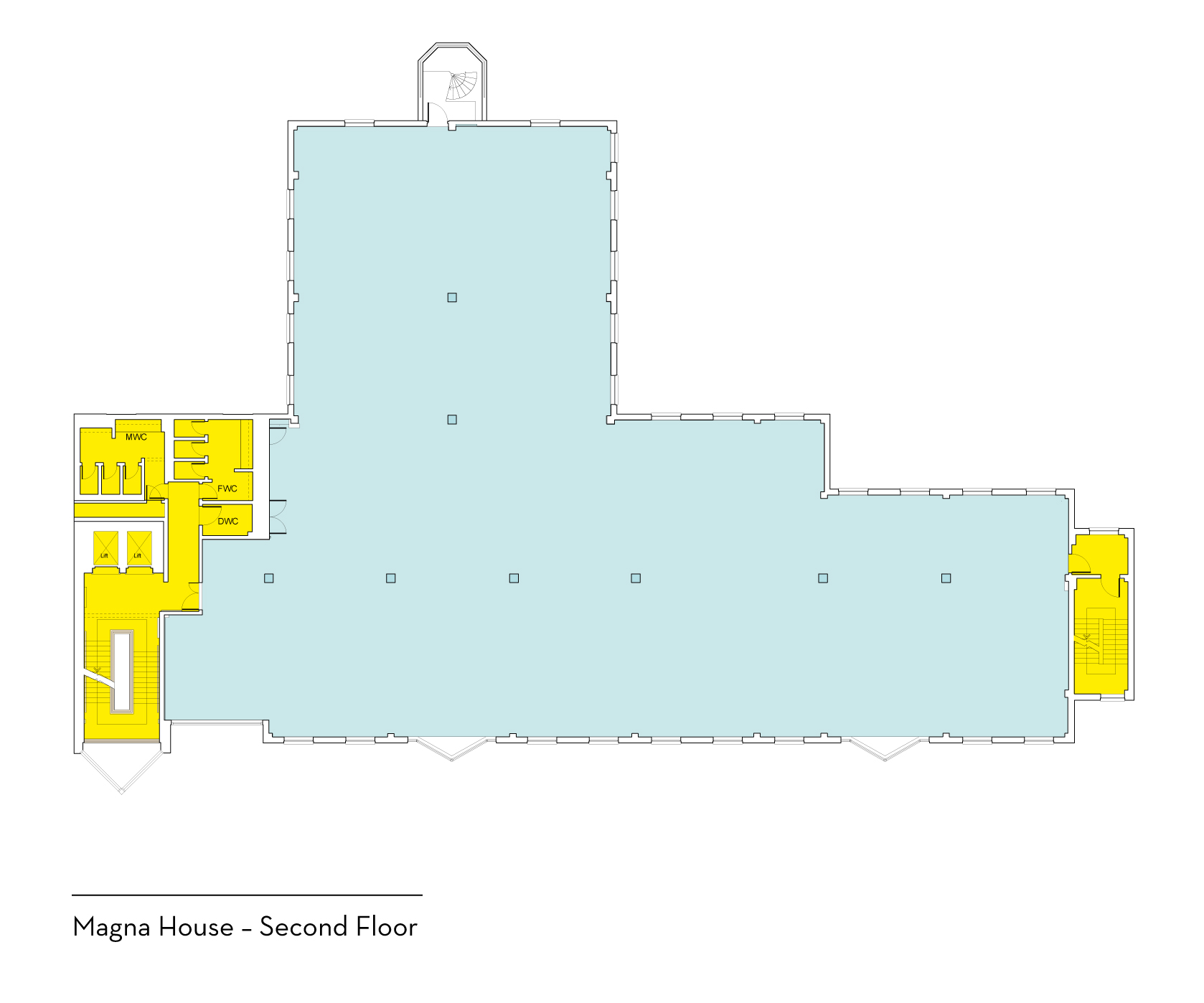 Magna House Second Floor Plan