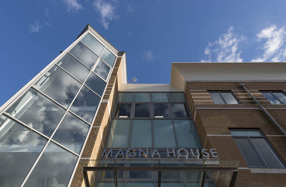Magna House – comprehensively refurbished with a stunning reception area, offering contemporary office accommodation to a Grade A finish